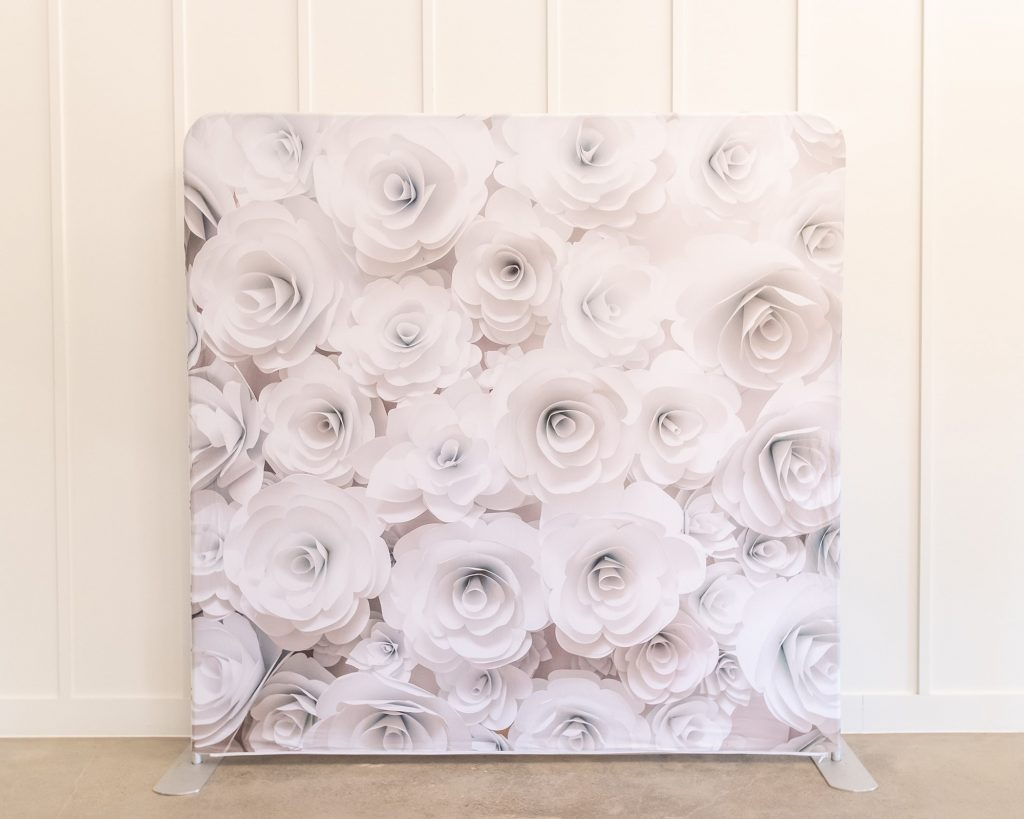 Photo Booth Backdrop - Floral