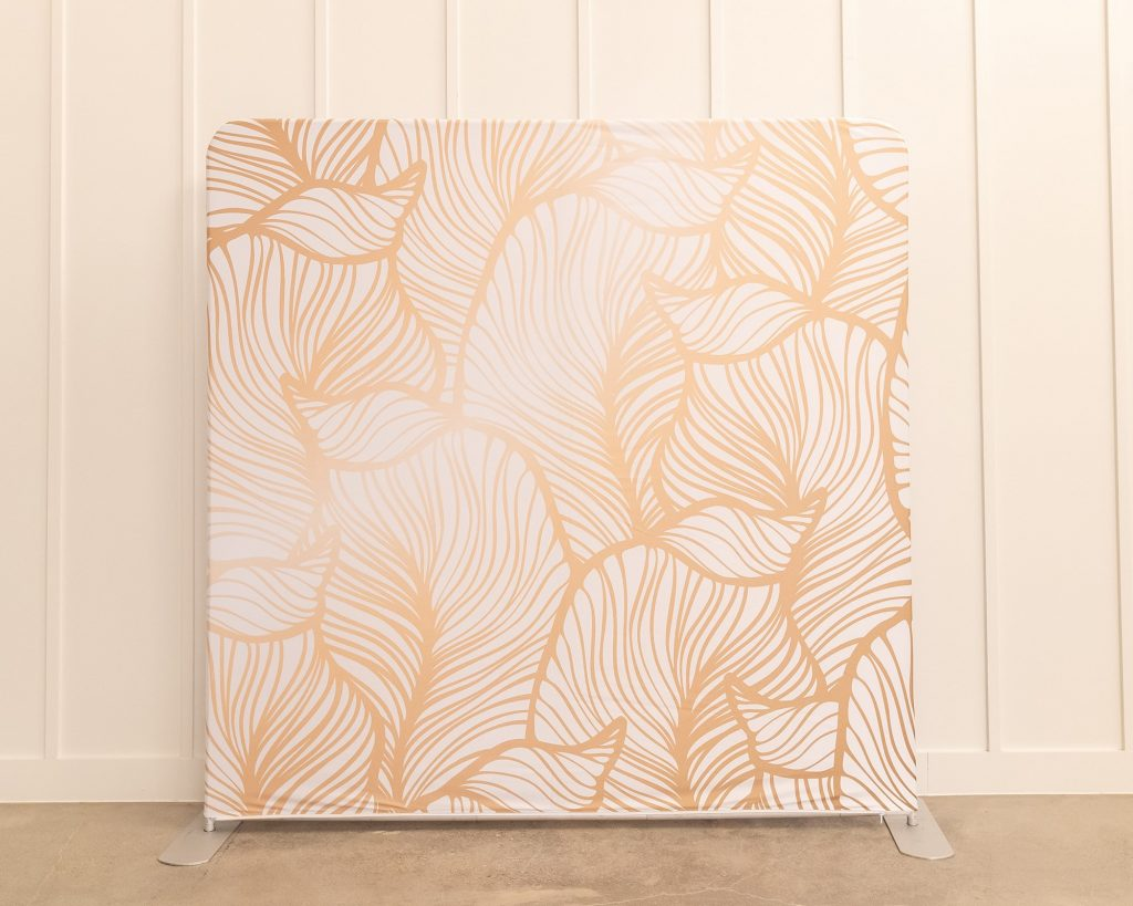 Photo Booth Backdrop - Gold Leaf