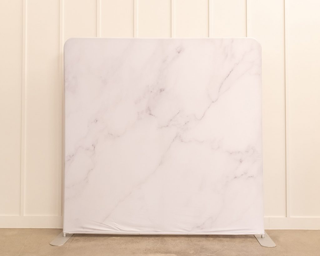 Photo Booth Backdrop - Marble