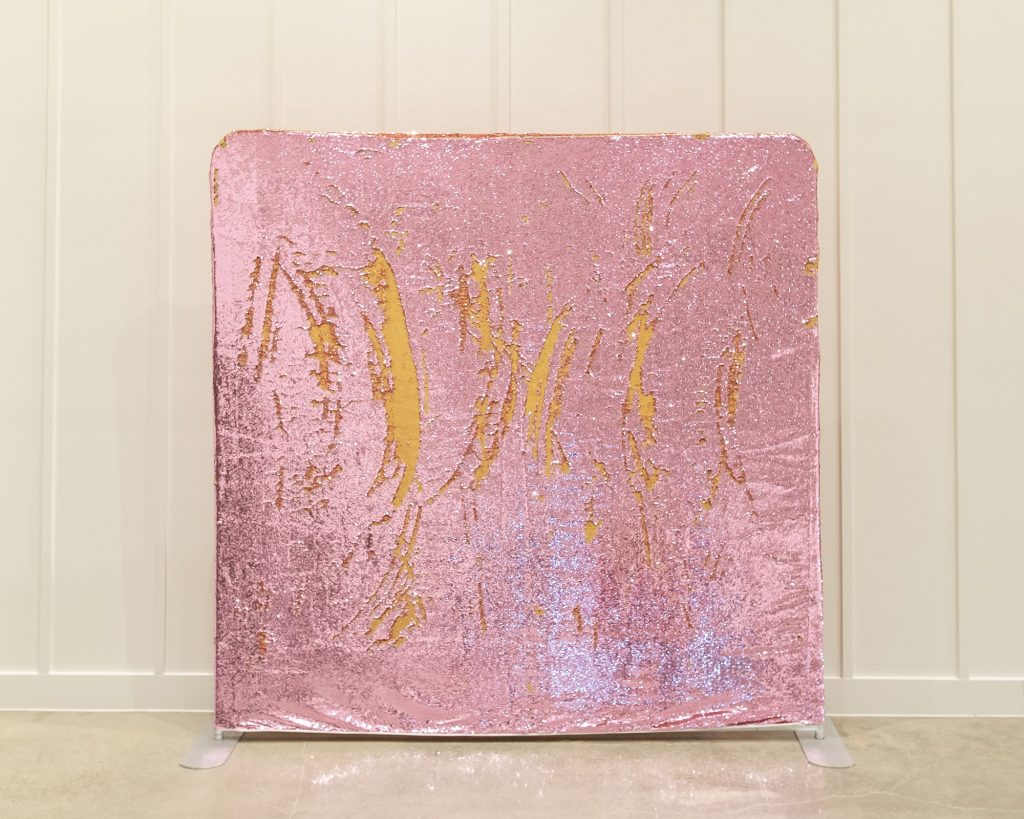 Photo Booth Backdrop - Pink Mermaid