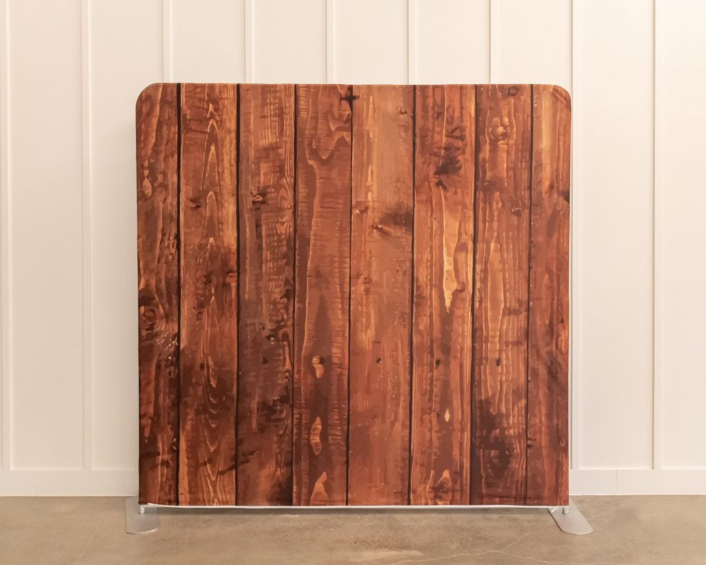Photo Booth Backdrop - Wood