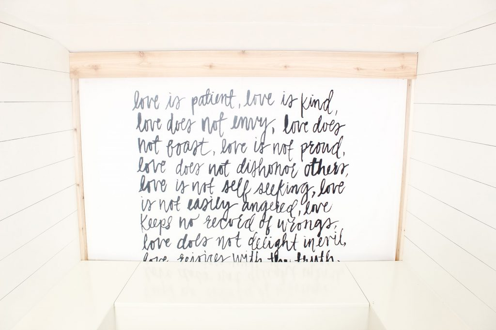Photo Camper Backdrop - Scripture